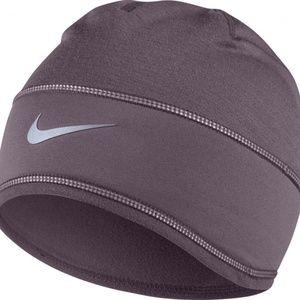 Nike Dri-Fit Beanie Run Running Women Purple